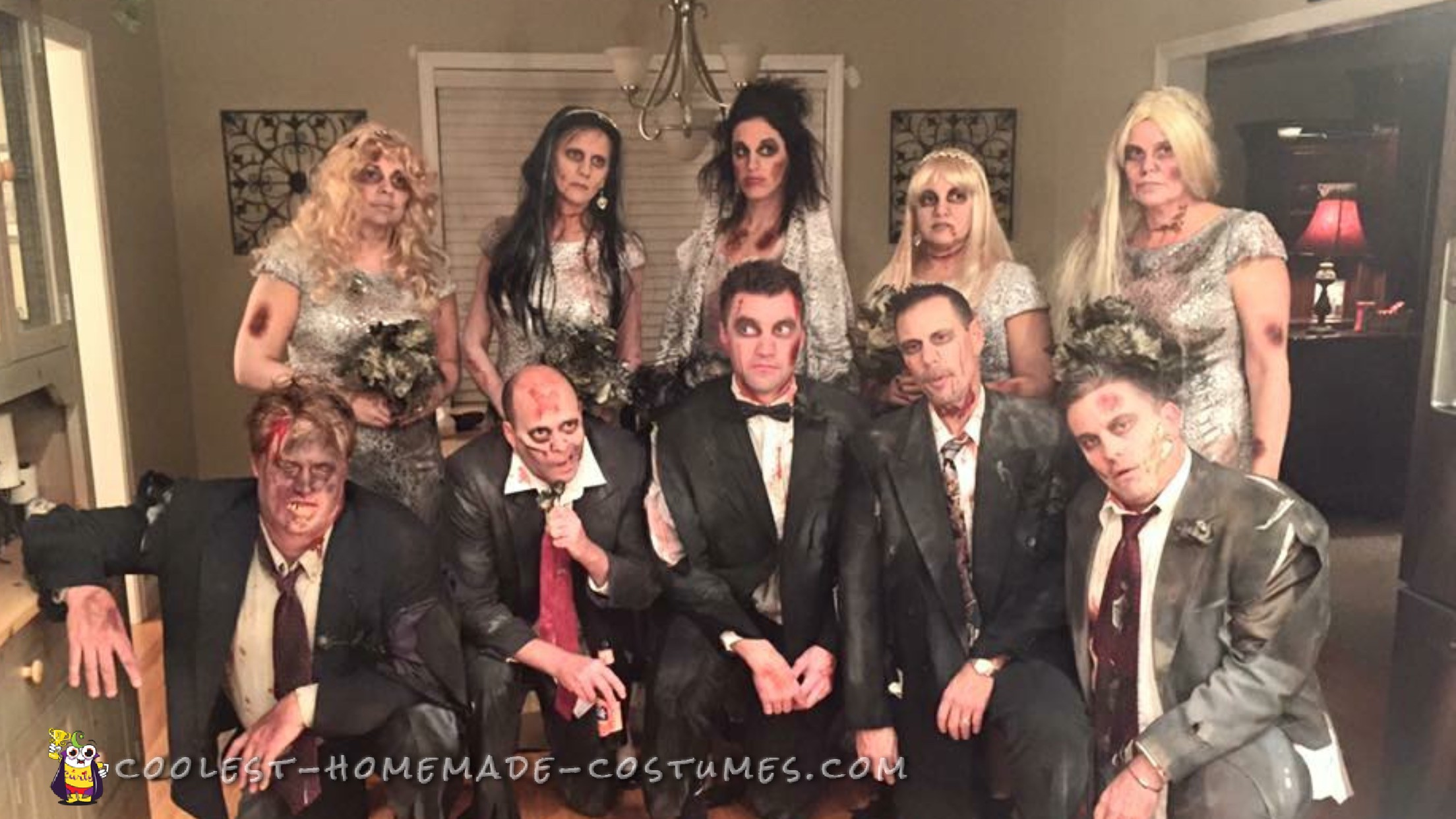 Wedding Massacre Group Costume