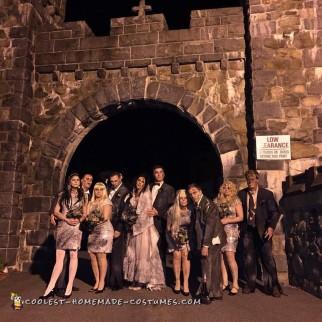 Wedding Massacre Group Costume