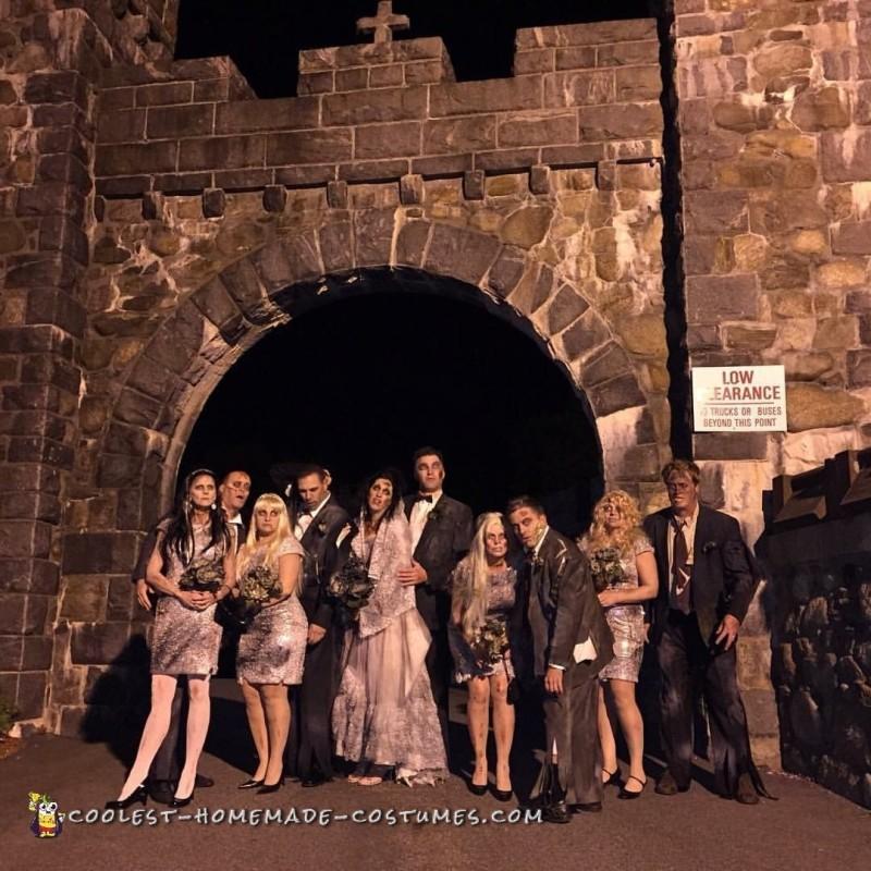 Wedding Massacre Group Costume - 1