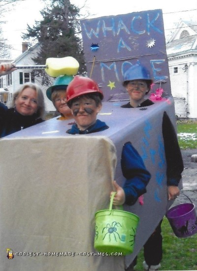 Wicked Fun Whac-A-Mole Group Costume