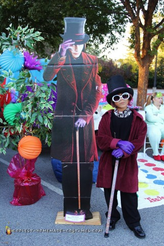 Willy Wonka Costume - The New Version