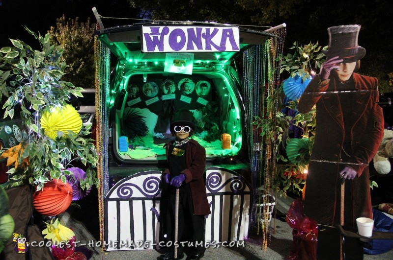 Trunk-or-Treat Wonka style