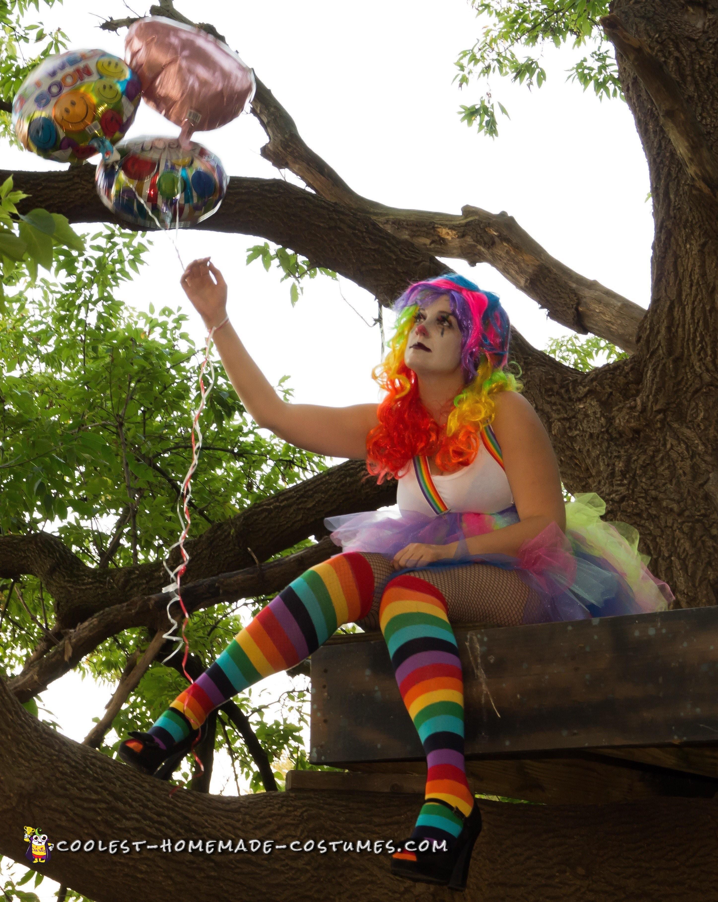Woman's Clown Costume