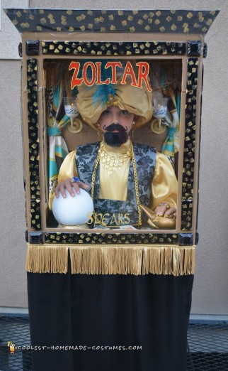 Zoltar Speaks Halloween Costume
