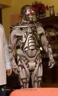Terminator T800 Endoskeleton Costume - 2