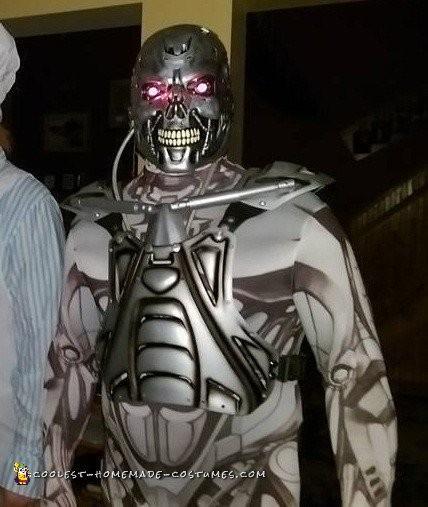Terminator T800 Endoskeleton Costume