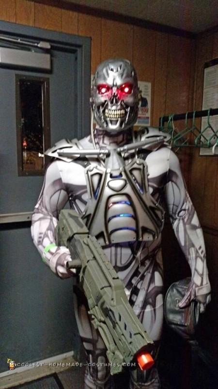 Terminator T800 Endoskeleton Costume - 3