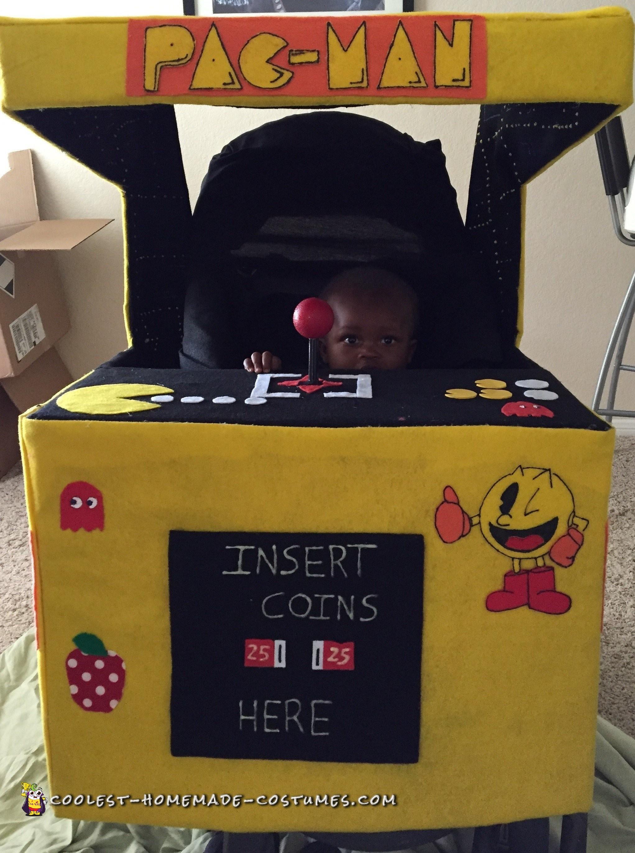 Pacman Arcade Stroller Costume