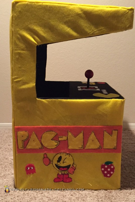 Pacman Arcade Stroller Costume - 1