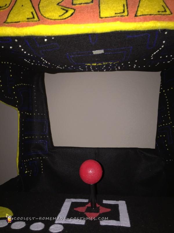 Pacman Arcade Stroller Costume - 2