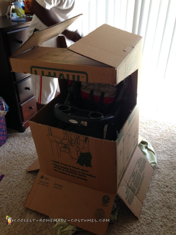 Pacman Arcade Stroller Costume - 4