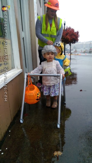 Cute Toddler Costume Idea: 80 Year Old Woman Stuck in 18 Month Old Body