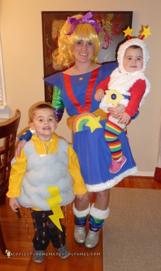80s Throwback Costumes: Rainbow Brite, Twink, and Their Storm Cloud