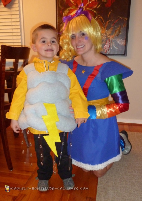 80s Throwback Costumes: Rainbow Brite, Twink, and Their Storm Cloud - 2