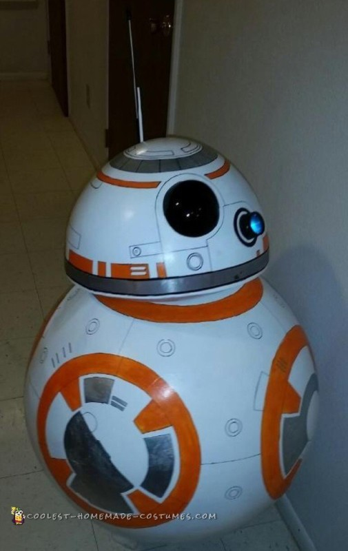 Coolest BB-8 Star Wars Costume - 1