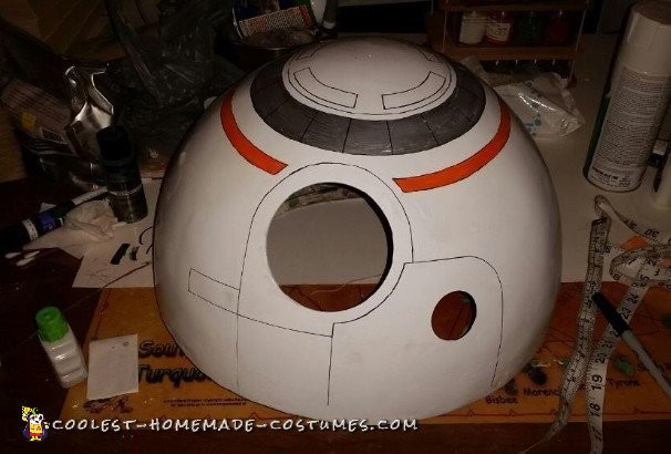 Coolest BB-8 Star Wars Costume - 5