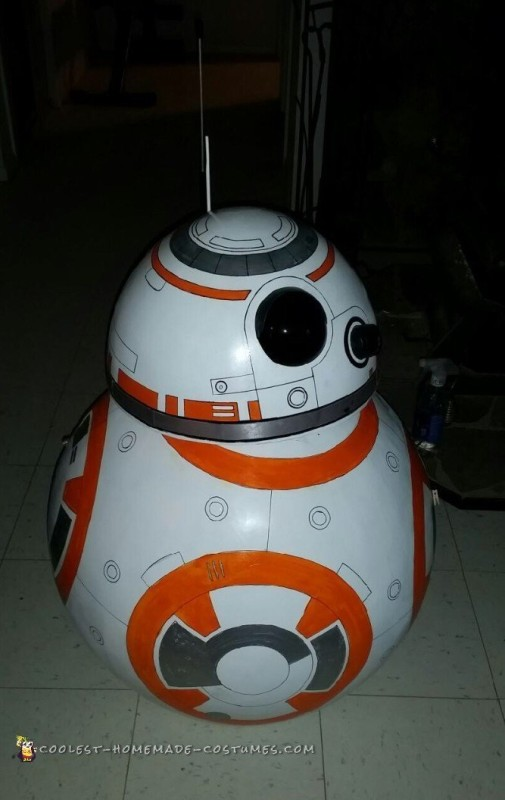Coolest BB-8 Star Wars Costume - 6