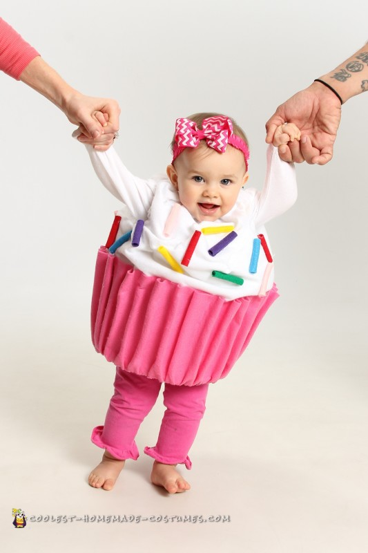 Adorable Baby Cupcake Costume