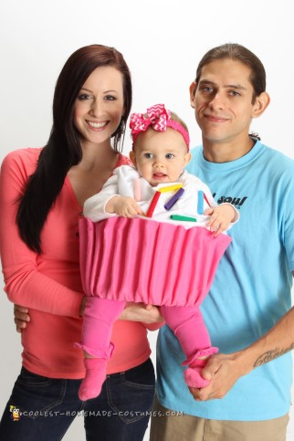 Adorable Baby Cupcake Costume