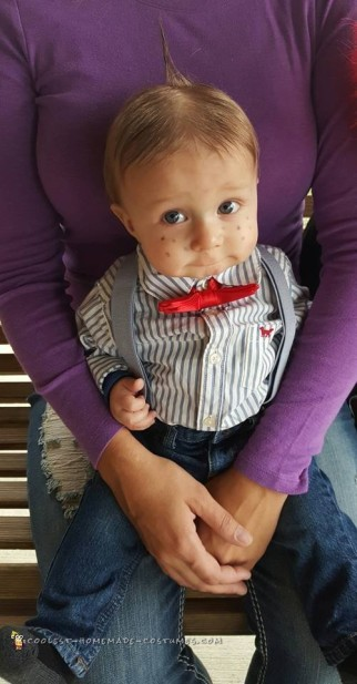 Cute Alfalfa Baby Costume