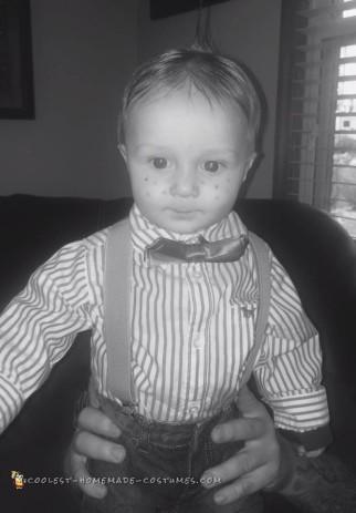 Cute Alfalfa Baby Costume