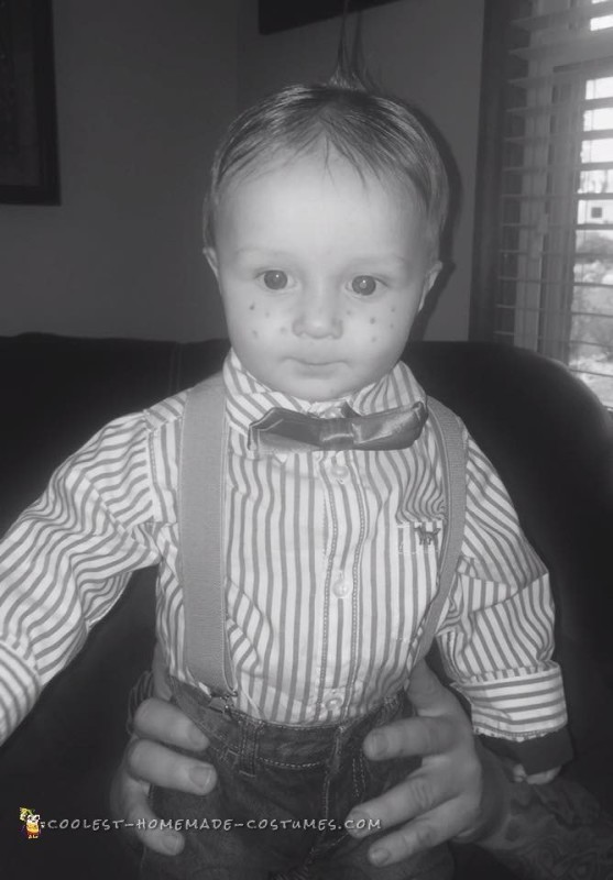 Cute Alfalfa Baby Costume - 1
