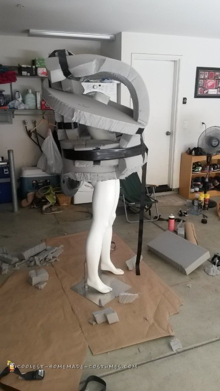 Epic Alien Robot Costume - 3