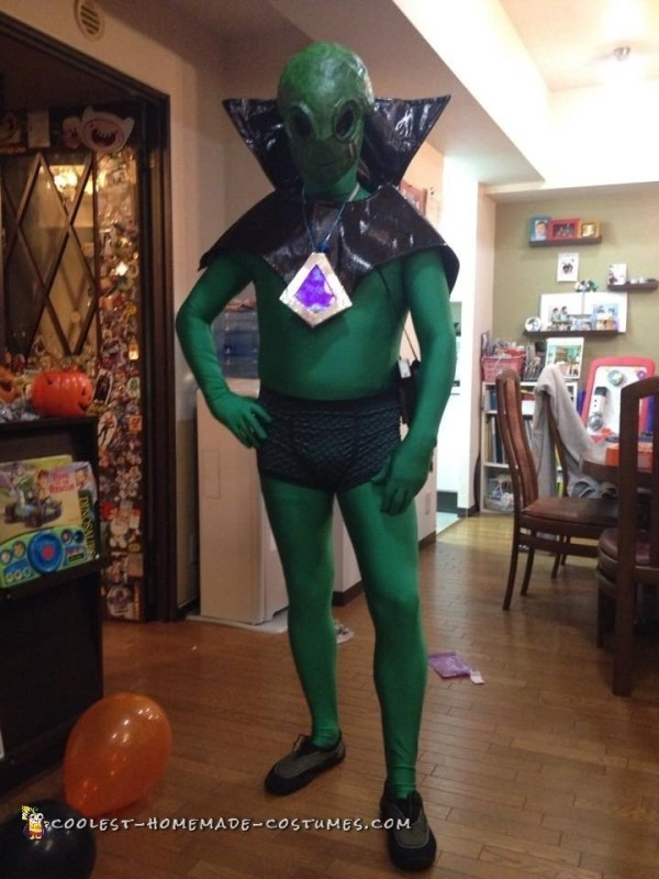 Awesome UFO Alien Costume that Lights Up!