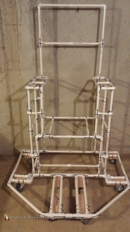 Throne PVC Skeleton