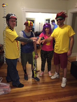 Amazing Rocket Power Group Costume