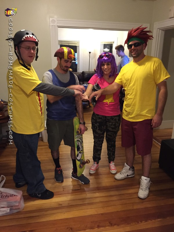 Amazing Rocket Power Group Costume