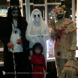 American Horror Story Family Costume