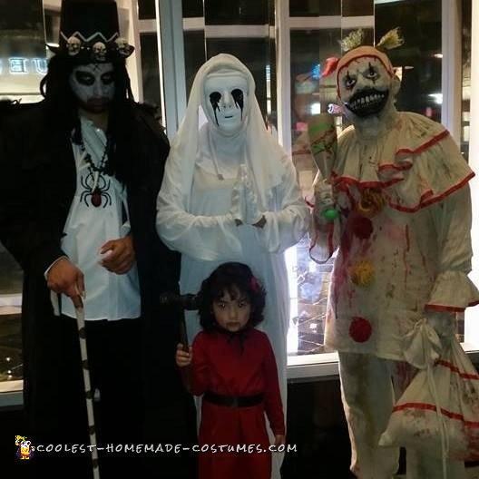 American Horror Story Family Costume