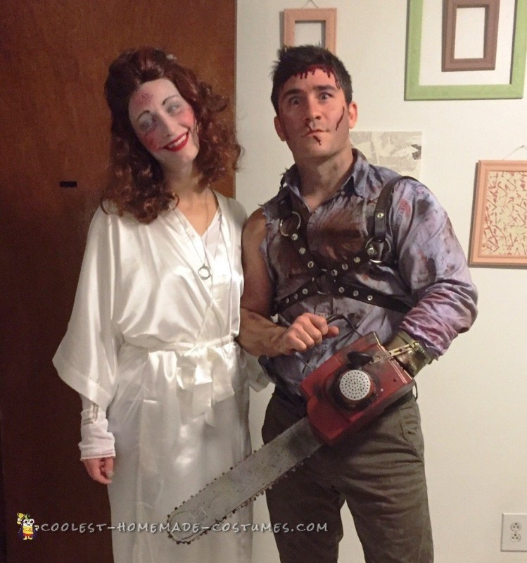 Ash and Linda Costumes from the Evil Dead - 1