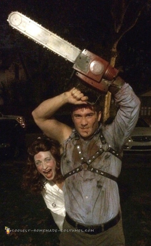 Ash and Linda Costumes from the Evil Dead - 3