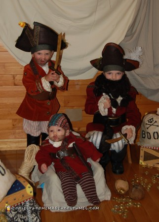 Authentic Pirate Crew Costumes