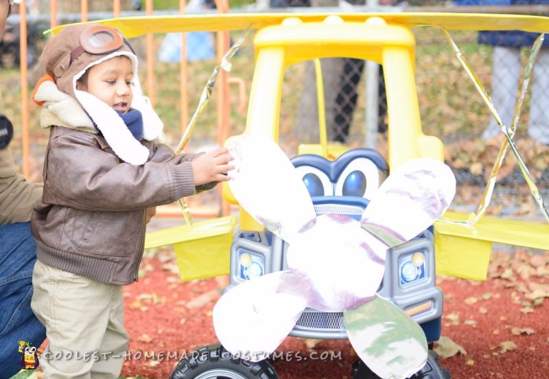 Aviator Baby Costume
