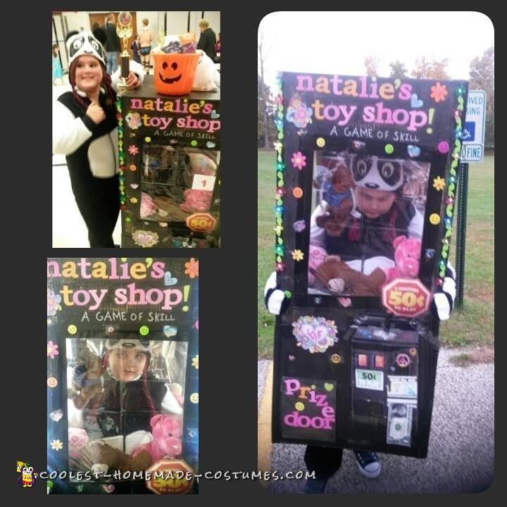 Award Winning DIY Stuffed Animal Claw Machine Costume