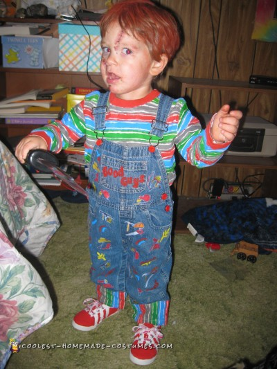 Awesome Chucky Costume for a 2 Year Old Boy