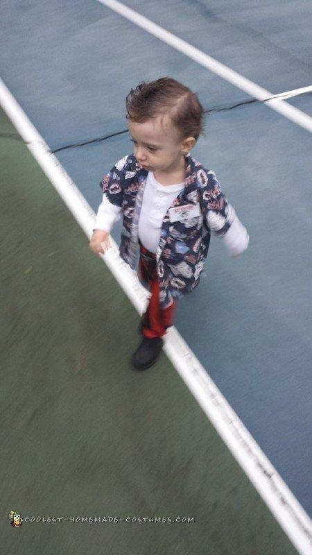 Baby Ace Ventura Pet Detective Costume
