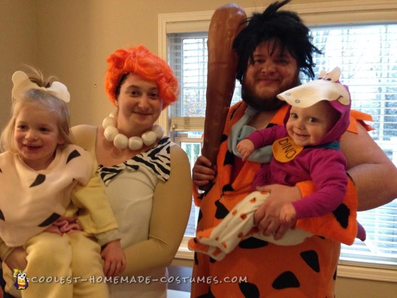 Whole family of Flintstones
