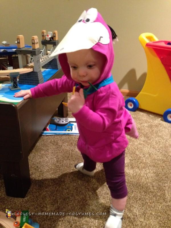 Baby Flintstones Dino Costume - 4