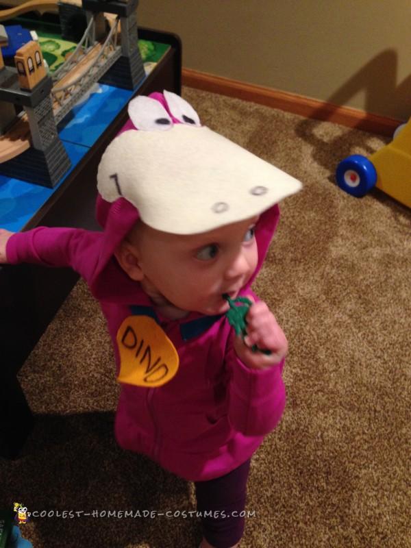 Baby Flintstones Dino Costume - 5