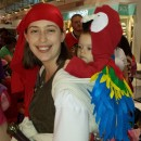 Babywearing Pirate and Parrot Costume