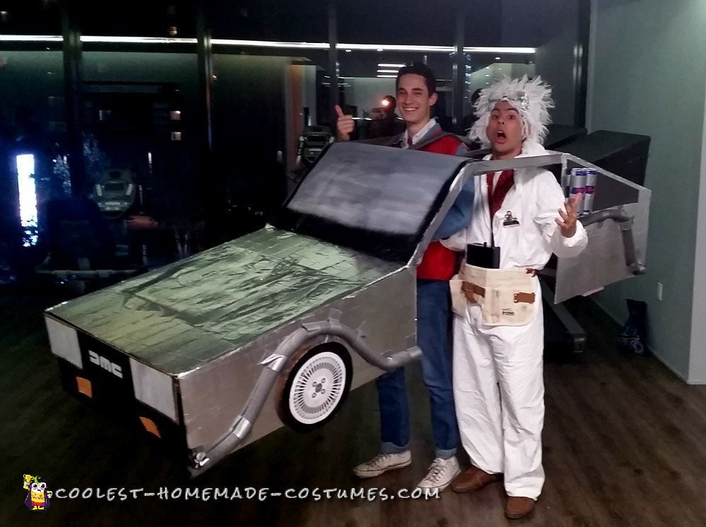 Awesome Back to the Future Costume