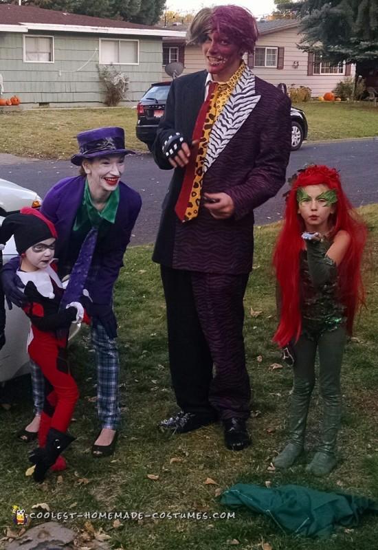 Batman Villains Family Costume Theme