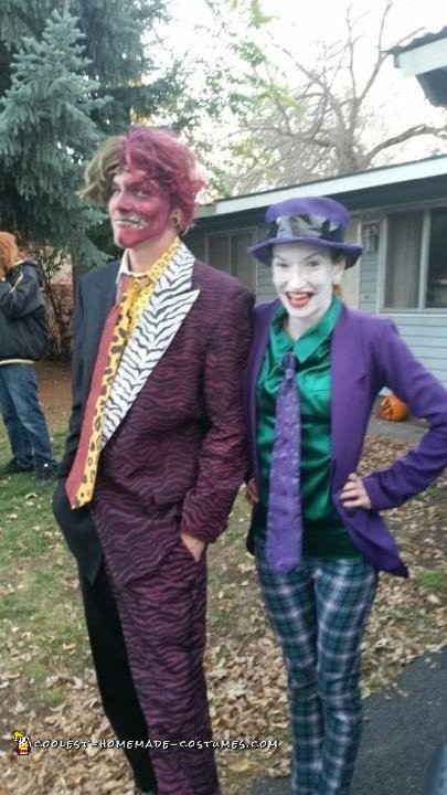 Batman Villains Family Costume Theme