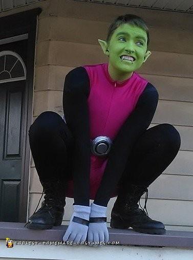 Beast Boy Costume Diy