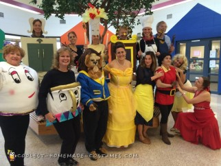 Marvelous Beauty And The Beast Group Costume