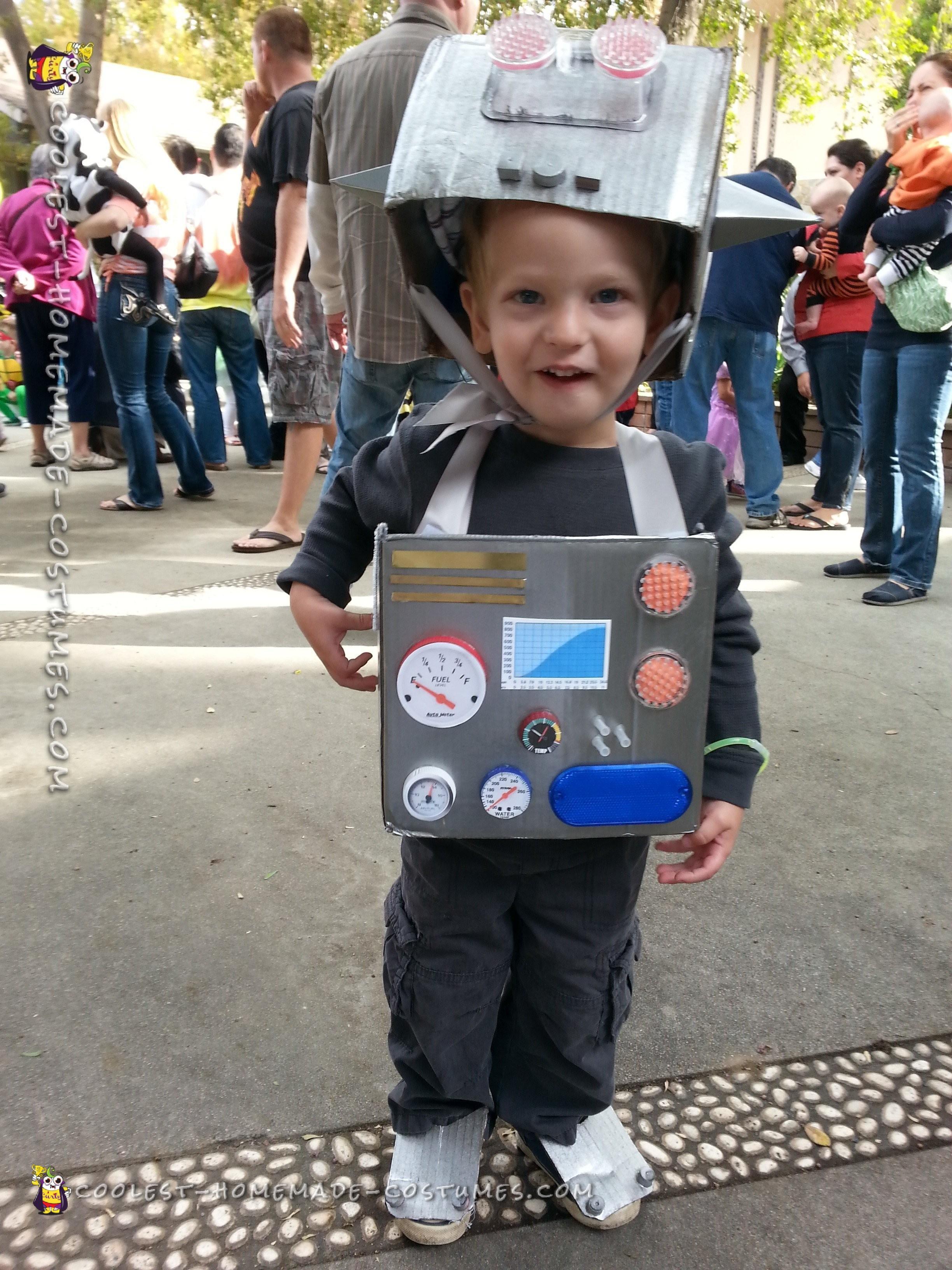 L-Bot (Robot) Costume for Toddler Boy